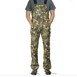 Realtree Camouflage Bib Overalls